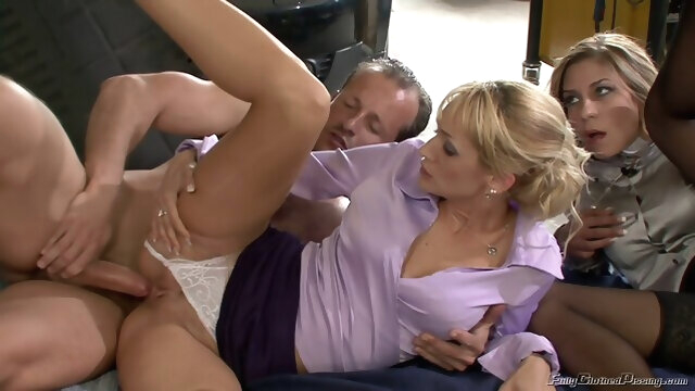 Shop Owners Looking For Tax Exemption hd blonde